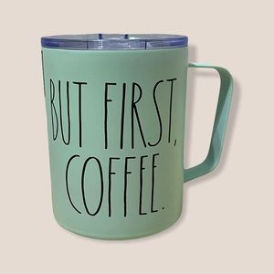 NWT Rae Dunn But First Coffee Insulated Mug